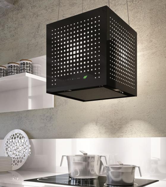 abzugshaube - küche - ausgefallenes design - schwarze, Kuchen