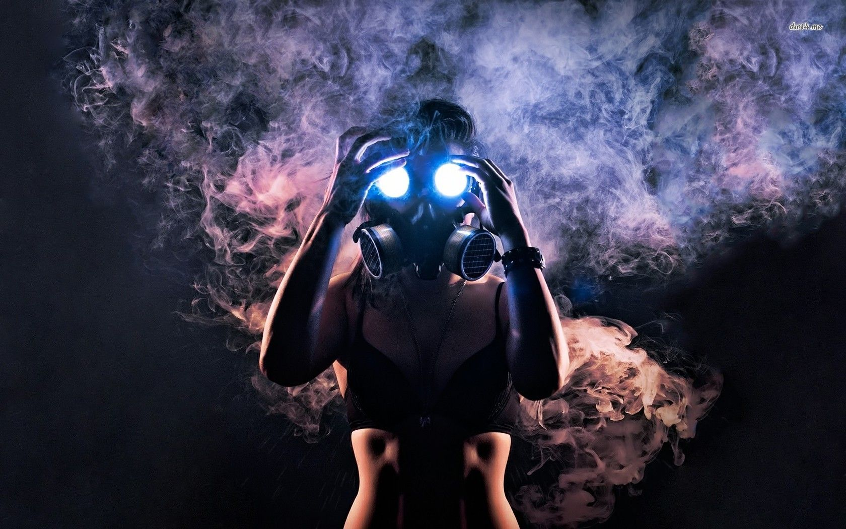 Woman in gas mask HD wallpaper Gas mask girl, Gas mask