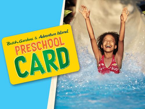 Free 2020 Busch Gardens Preschool Card Plus Adventure Island