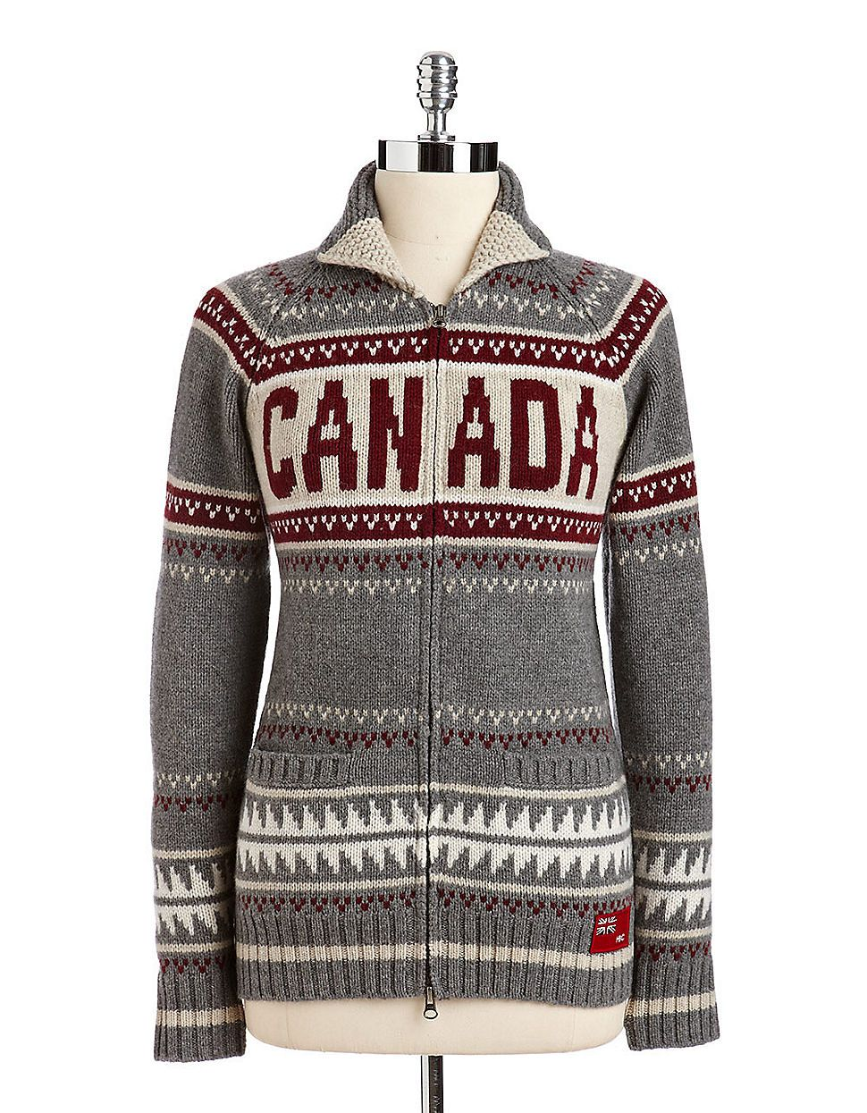 HBC Collections Olympic Collection Wool Knit Sweater