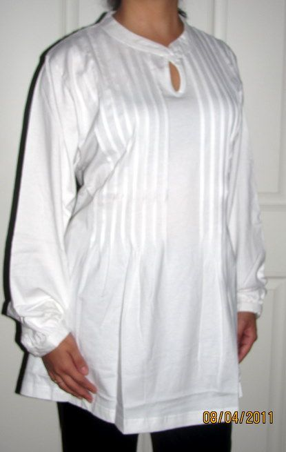 Lovely white tunic for spring just $19.99 cotton beautiful machine washable tunic tops for women