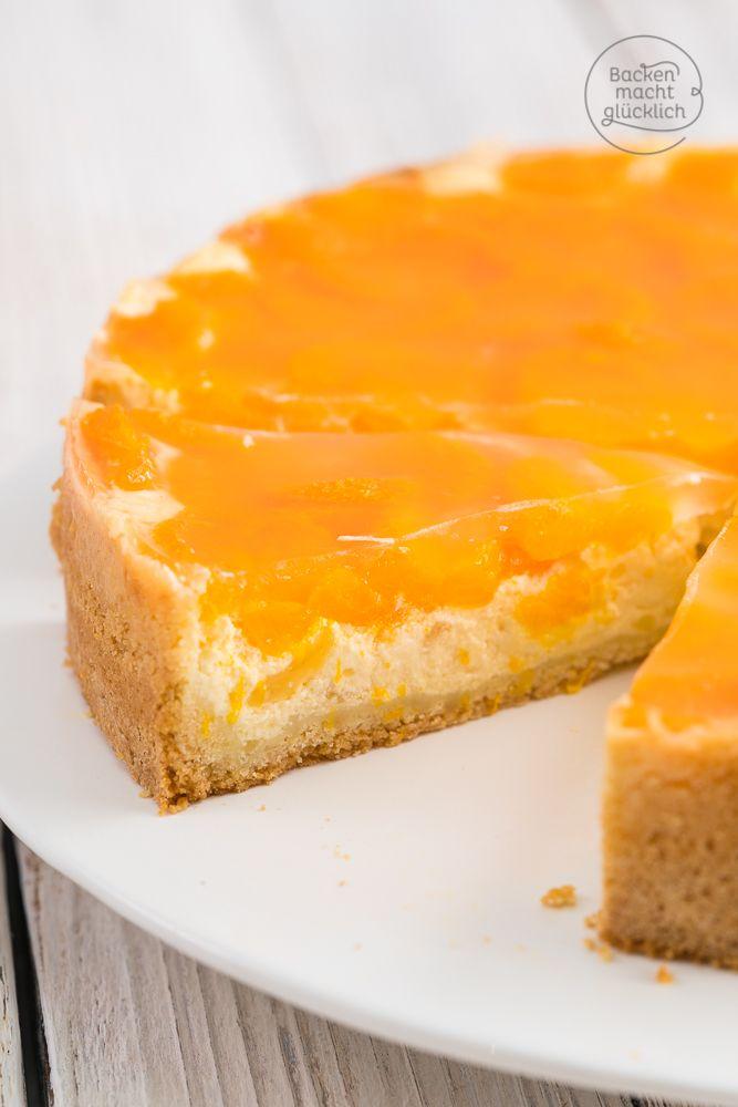 Mandarinen-Schmand-Torte | Backen macht glücklich