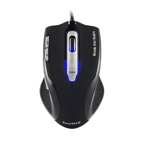 f330460ce6c EasySMX BD-2428GML Optical Gaming Mouse 8200 DPI with Rubber Side Grip/  Macro.