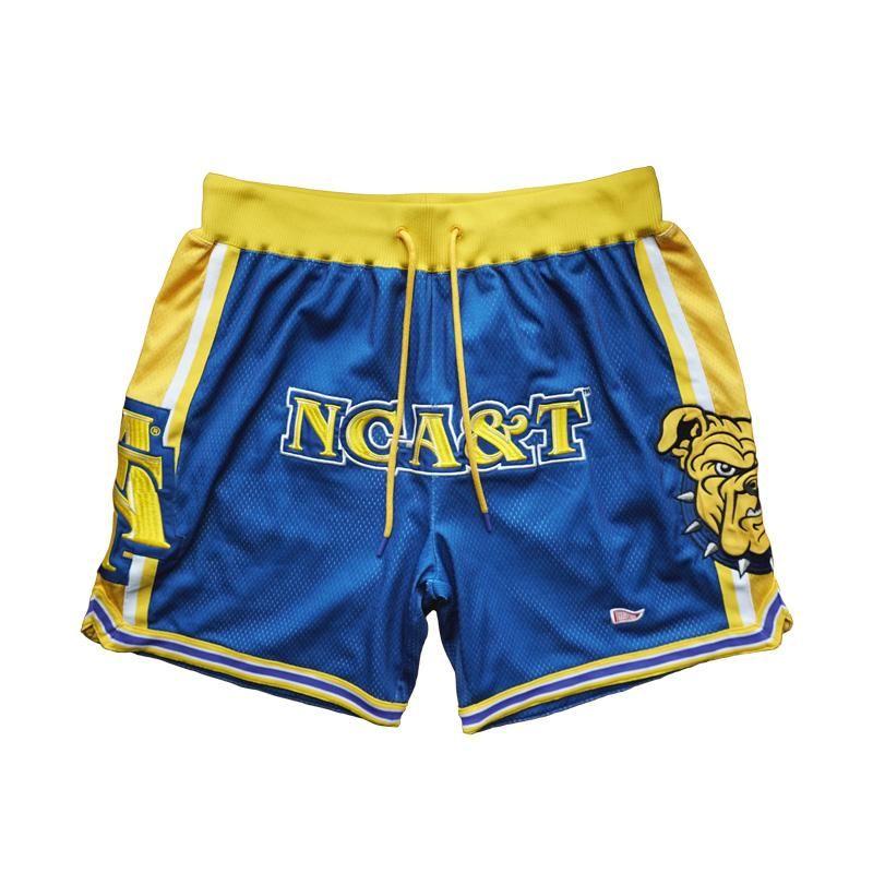 2a210426342a4 North Carolina A&T GOAT Basketball Shorts | WILD N OUT | Basketball ...