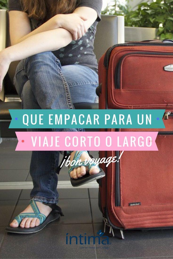 Que Empacar Para Un Viaje Corto O Largo Recuerda Llevar Ropa De Más Es Tan Molesto Como Llevar De Menos Packing Tips For Travel I Want To Travel Packing List