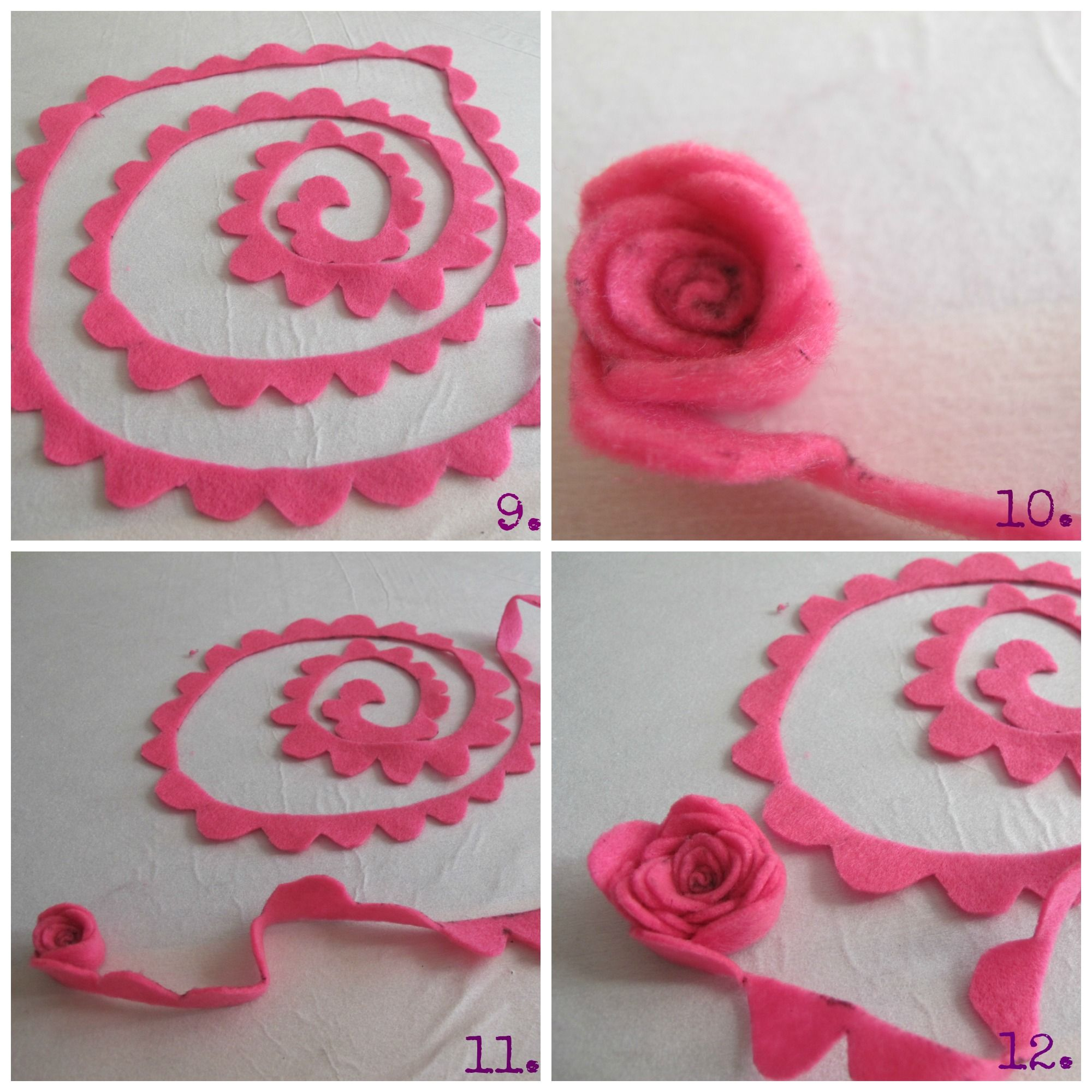 Diy felt flowers 5 i sew want to do that pinterest flowers diy felt flowers 5 baditri Gallery