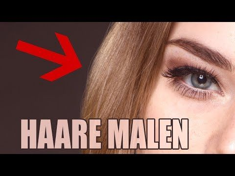 Haare malen in photoshop