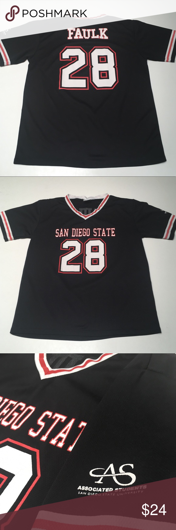 best loved 0fe81 effcf Marshall Faulk San Diego State Aztecs Jersey Represent ...