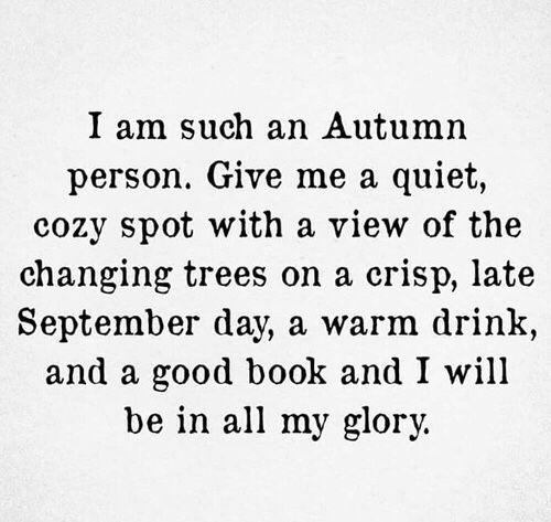 I Autumn Autumn Quotes