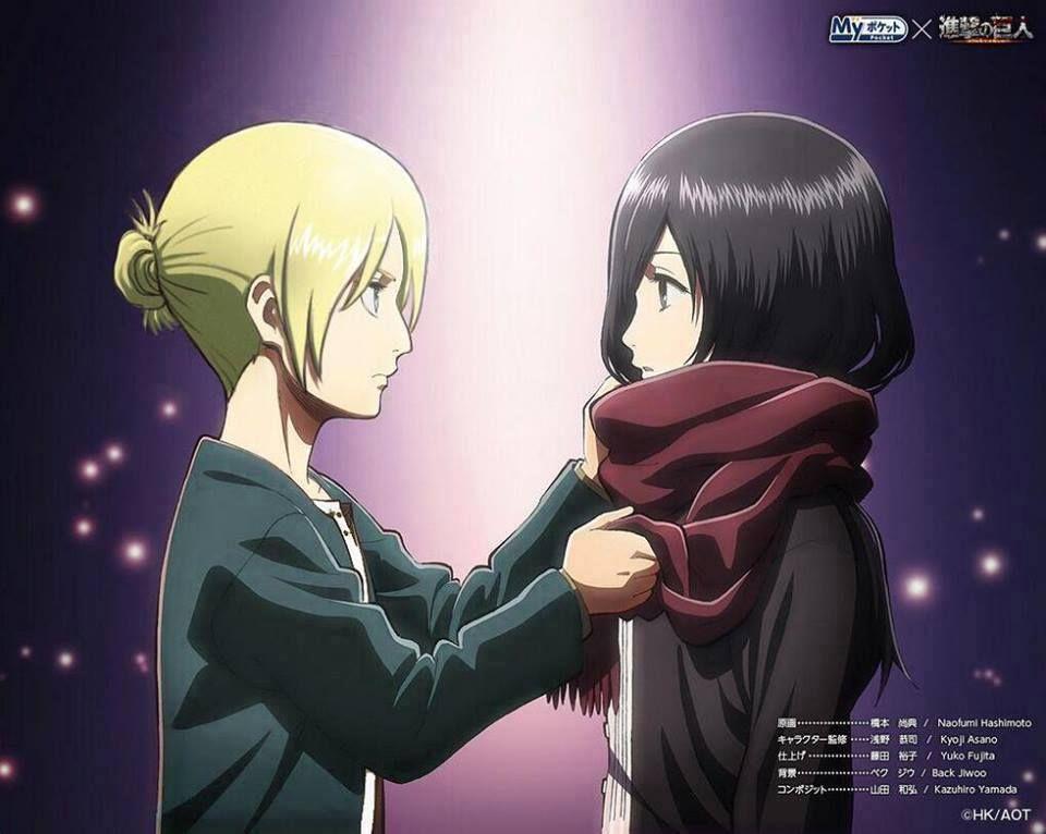 Annie & Mikasa