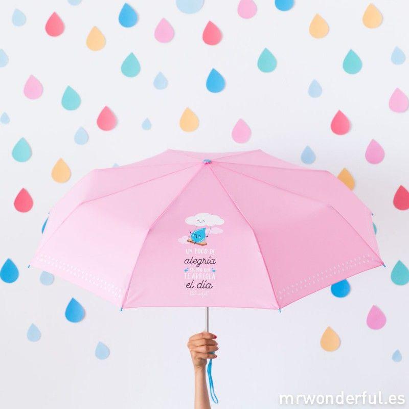 códigos de cupón último estilo promoción Paraguas mediano - Un poco de alegría seguro que te arregla ...