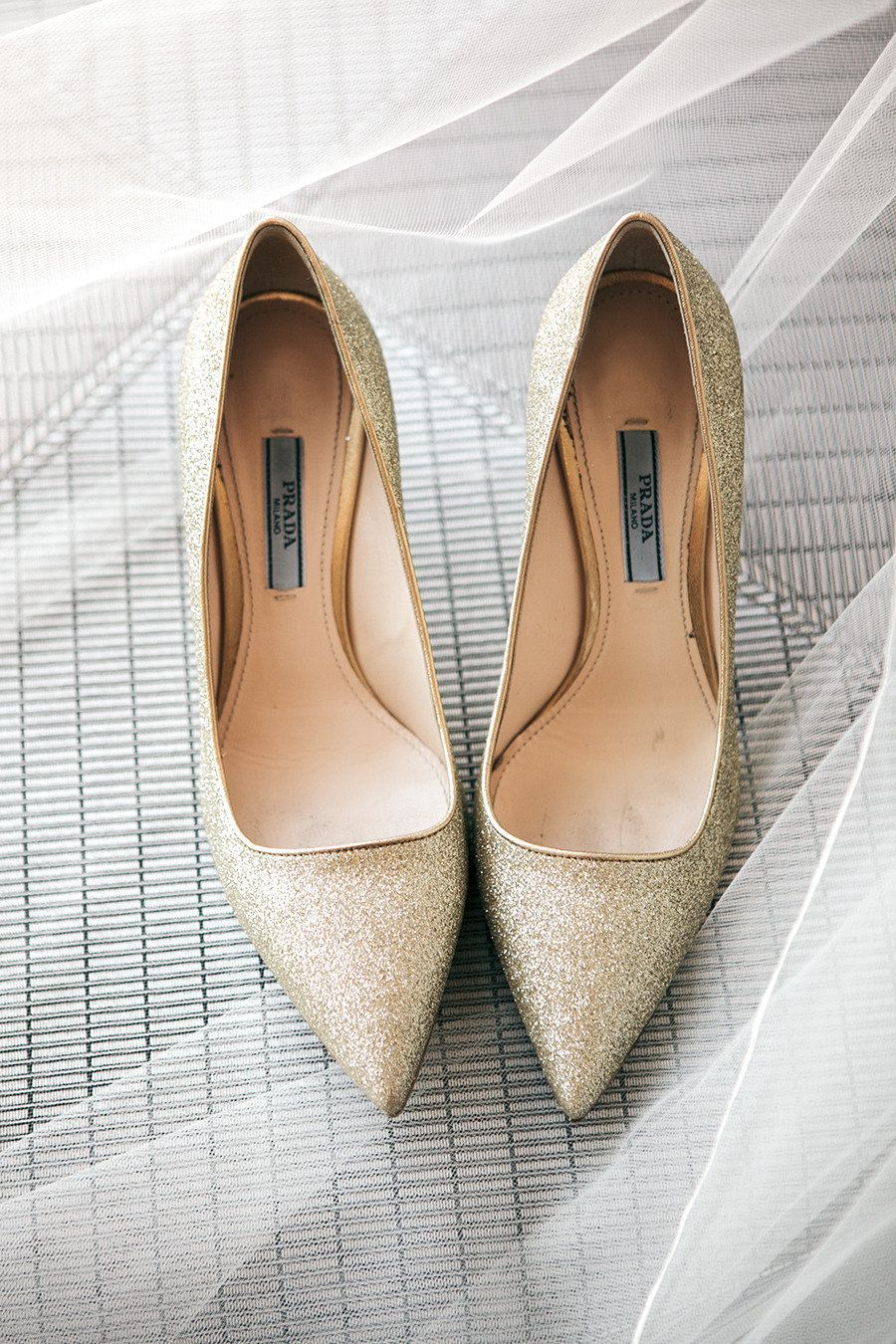 Sparkling Prada Shoes Photography By Melissaschollaertphotography Com Read More Http Www Stylemepretty Com 2013 Glittery Shoes Bridal Shoes Wedding Shoes