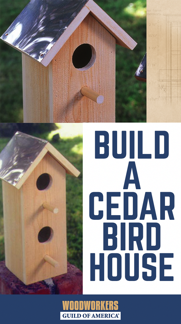 Nail together Scout project Hand made in USA Wren Bird House Kits