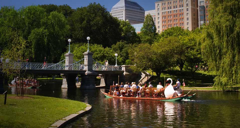 Boston Public Gardens Swan Boats Nature Pinterest