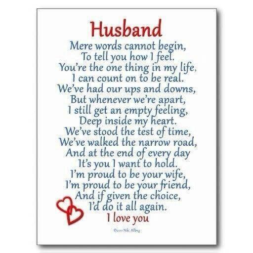 Husband Love Postcard | Zazzle.com | Husband quotes, Love