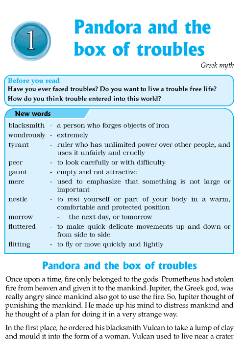 literature-grade 8-Myths and legends-Pandora and the box of troubles ...