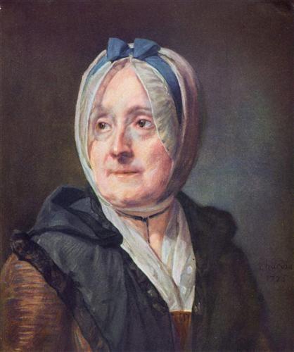 Portrait of Françoise Marguerite Pouget - Jean-Baptiste-Simeon Chardin