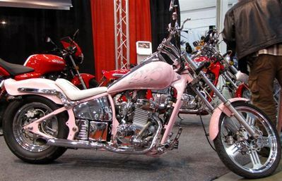 johnny pAG PINK | Toronto January Bike Show Pictures - The