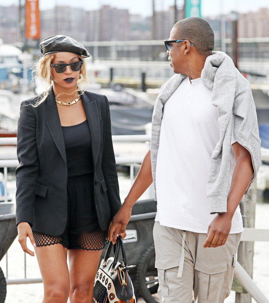 fe7e644ca66e Beyoncé   Jay Z in New York on June 13th