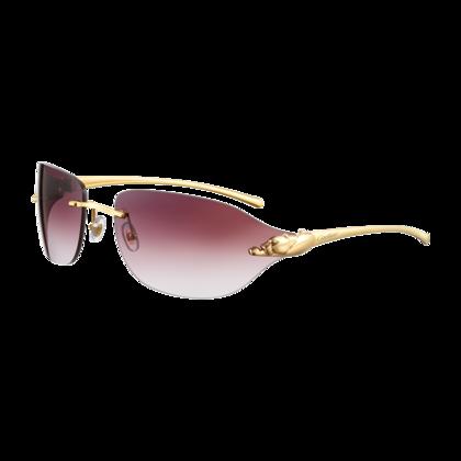 Panthère de Cartier rimless sunglasses   Gotta Have It   Pinterest ... 1dfd47a40bba