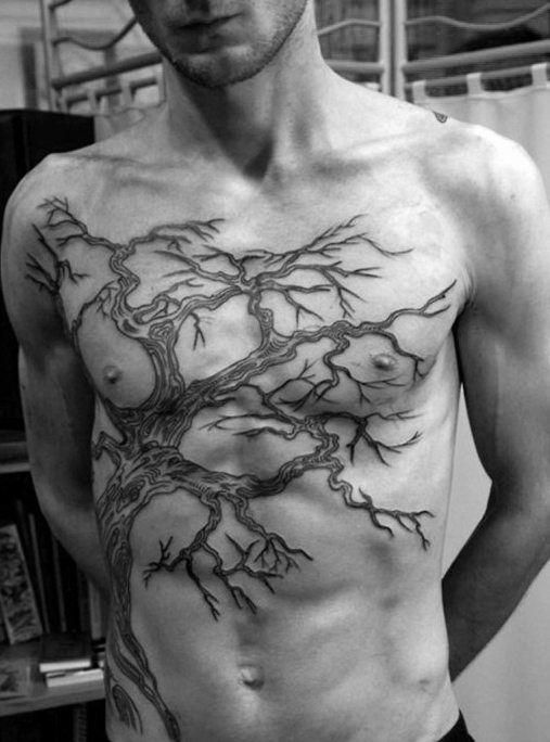 60 family tree tattoo designs for men kinship ink ideas rh pinterest com tree branch tattoos meaning tree branch tattoo sleeve