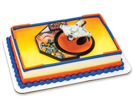 Star Wars Rebels birthday cake Walmart Birthday cakes and party