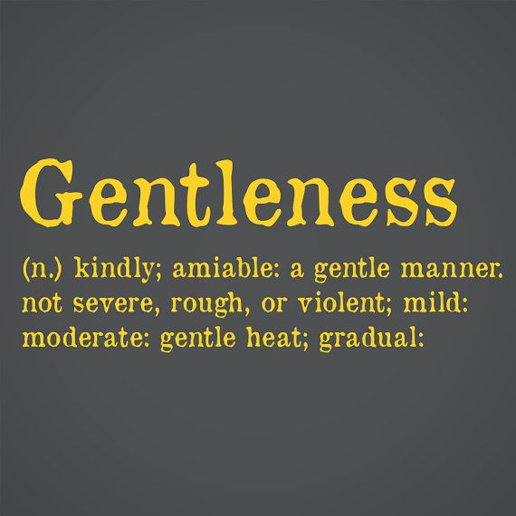 Gentleness Dictionary Definition Wall Art | words/pictures for walls
