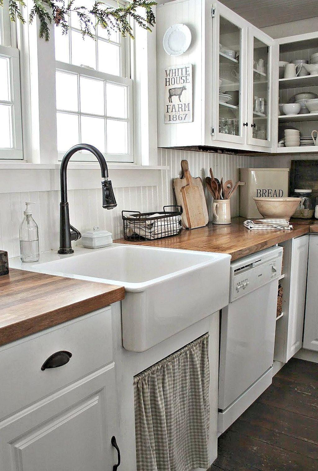 85 Gorgeous Kitchen Backsplash Decor with Dark Cabinets