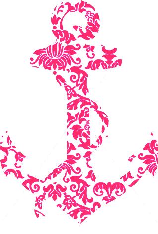 Pink Background clipart - Anchor, Pink, Graphics, transparent clip art
