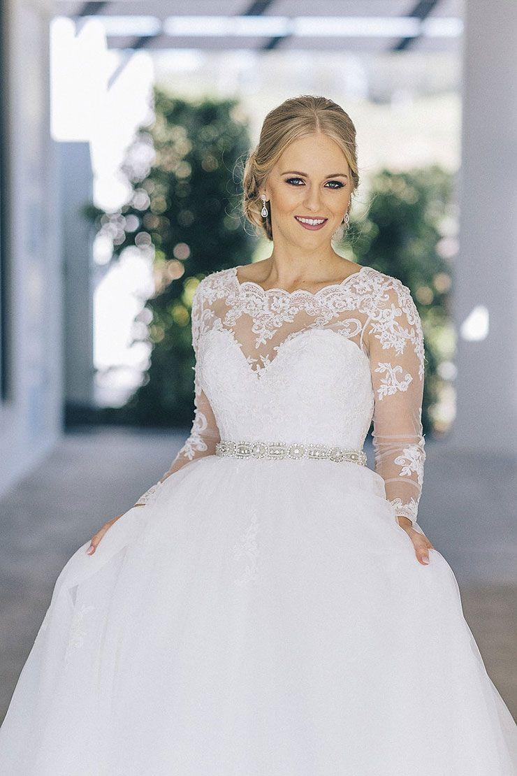 Lace dress vintage  Brooke u Jamesu Romantic Vintage Hinterland Wedding  Dresses