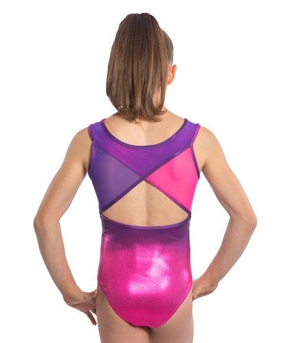 3193a0a20e1e Lizatards purple and pink ombre is a perfect combo of your girls ...