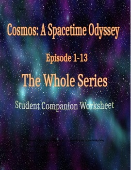 Cosmos Student Companion Page For Episodes 1 13 The Whole Series
