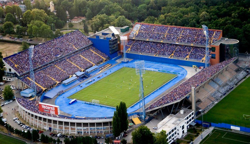 Maksimir Zagreb Stadium Zagreb World