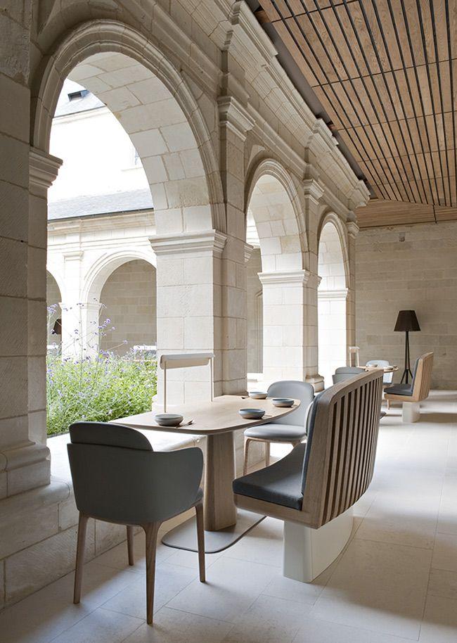 FONTEVRAUD Hotel & Restaurant by the Agency JOUIN MANKU   Deco-Design