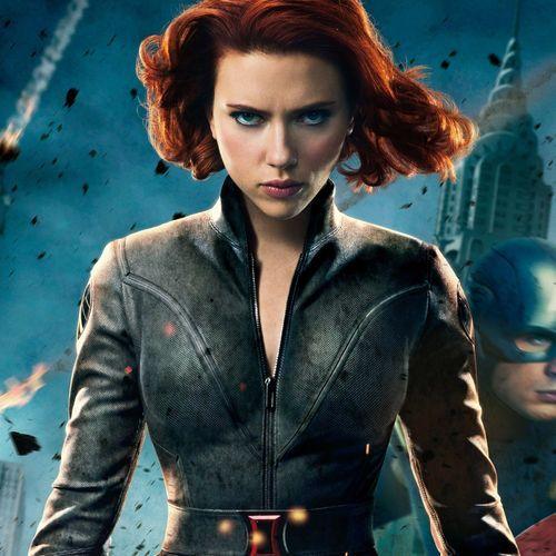 Black Widow Natasha Romanoff Avengers Assemble Black