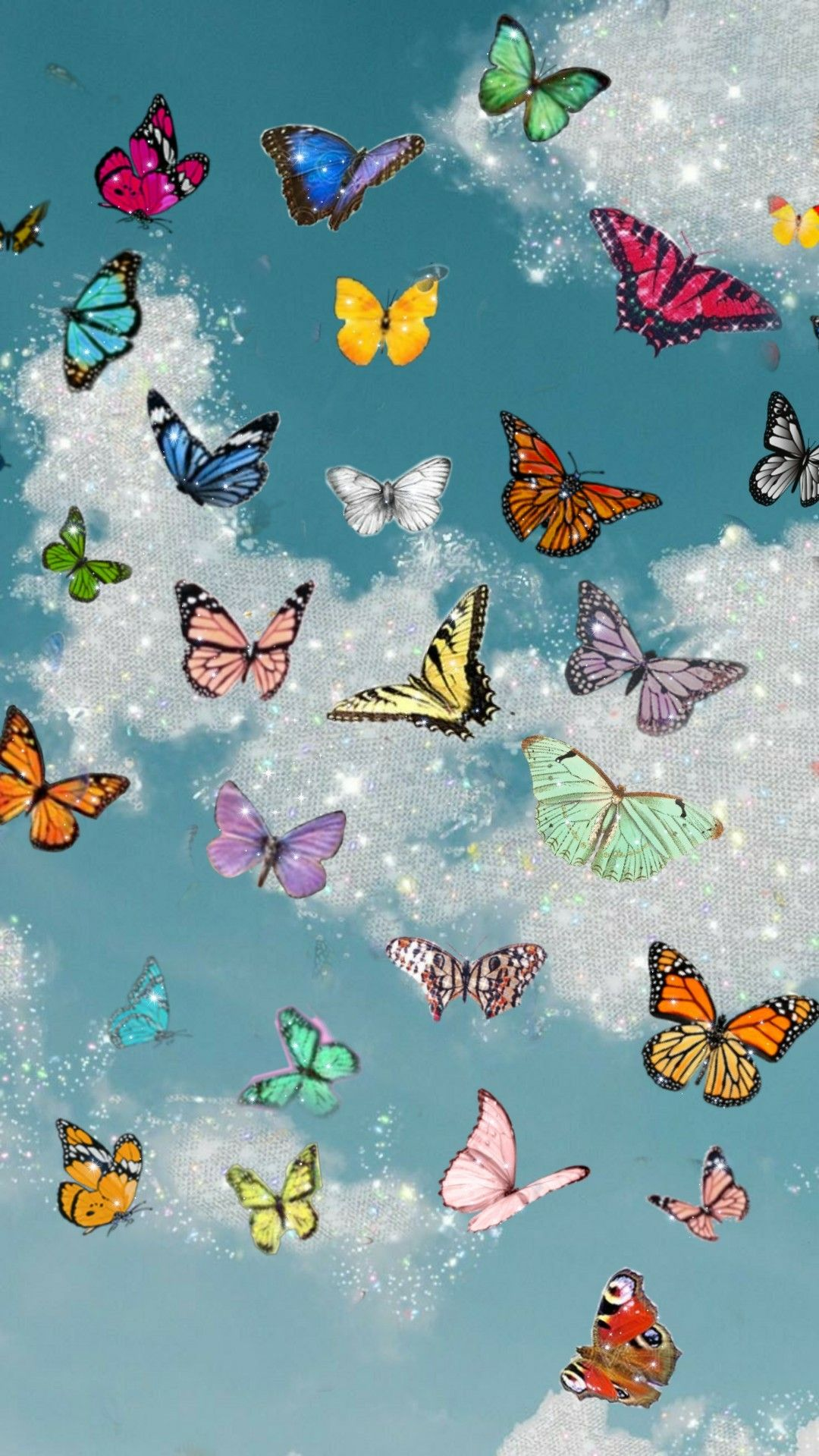Mariposas di 2020 |  Kupu-kupu wallpaper iphone, Estetika ...