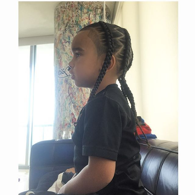 Kids With Braids Yesssss Toocute Youngversace22 Flygeneral Oddnessfly Art Braids Boys Long Hairstyles Kids Cool Braid Hairstyles Boy Braids Hairstyles