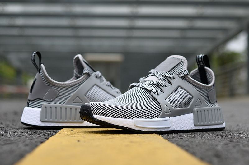 de201f8c15dbf Cheap 2018 Adidas NMD Runner Trainers XR1 Wolf Grey White Sneakers For  Sale