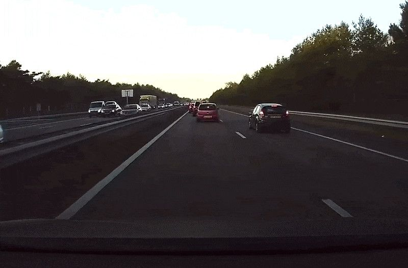 Since Tesla released Version 8.0 of its Autopilot system this summer, CEO Elon Musk has touted its lifesaving potential. Today, dashcam footage from the Netherlands showed just how powerful the new safety feature can be.