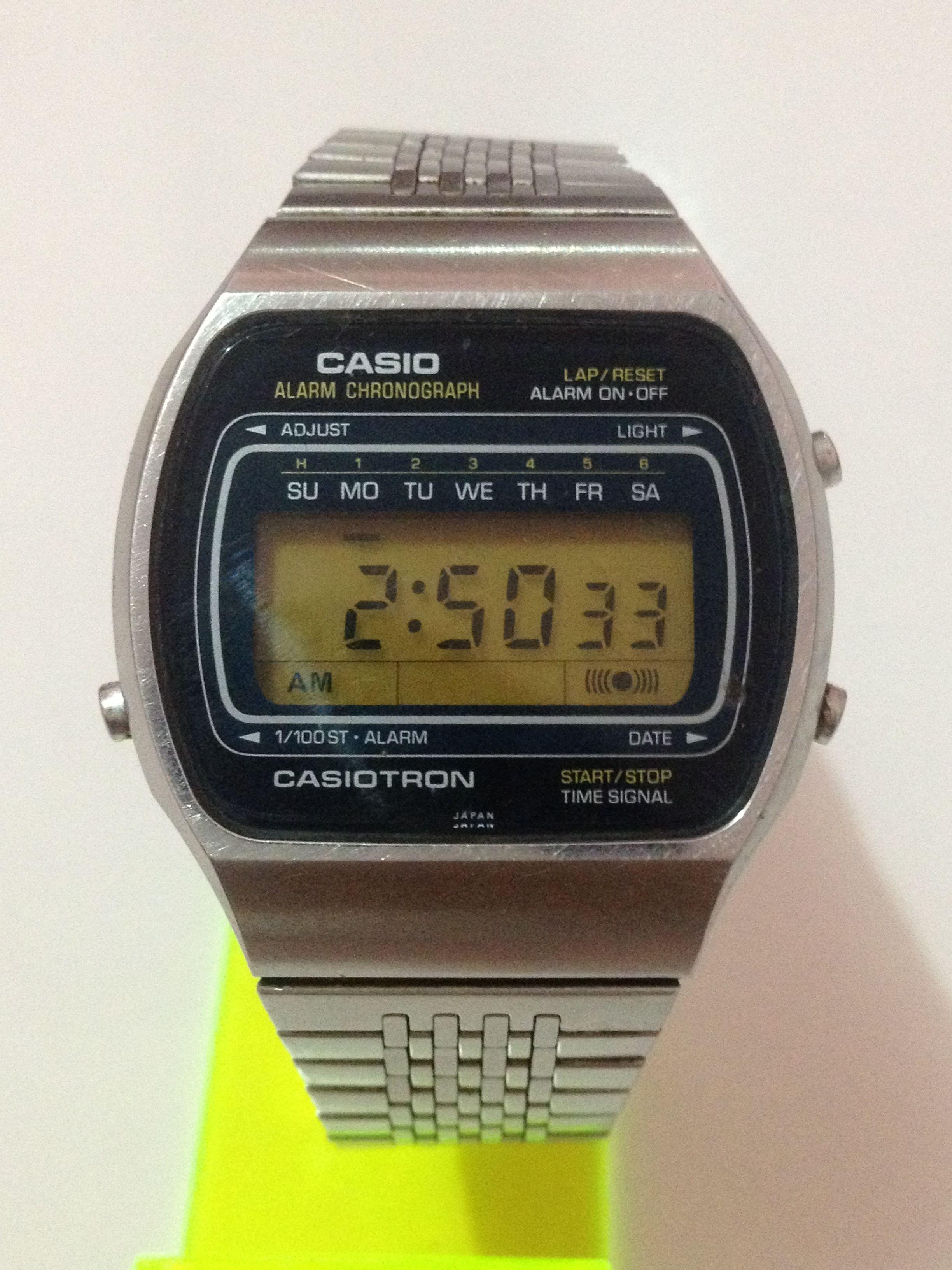 bf18f97c49ac CASIOTRON WATCH Casio Watch