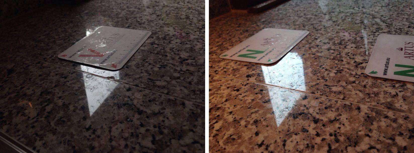 Abplatzung Instandsetzung Reparatur Beschaedigung Schaden Sanierung Reklamation Garantie Gewaehrleistung Oberflaeche Kunststein Natursteine Reparatur
