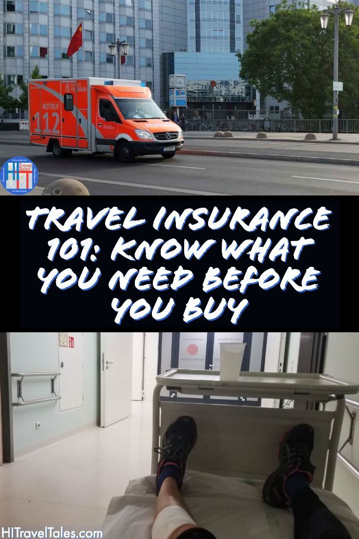 Travel Insurance 101 - Medical Insurance, Trip ...