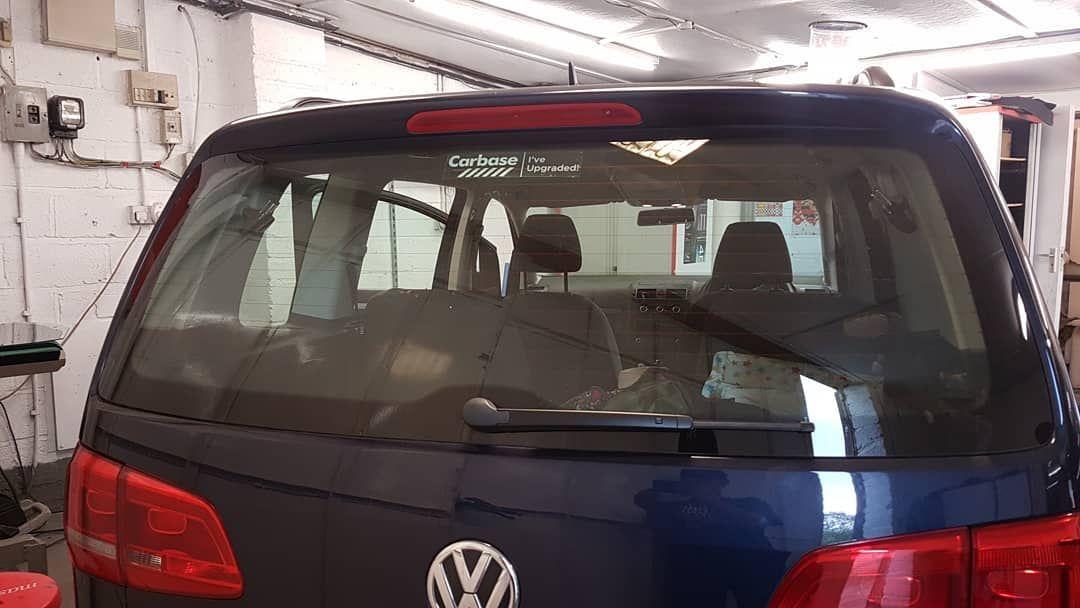 Vw Touran Window Tints Wraps Tints Autocare Taunton Automobiles Call Us On 07812524342 Car Vinyl Wrapping Car Detaili Car Detailing Tinted Windows Car