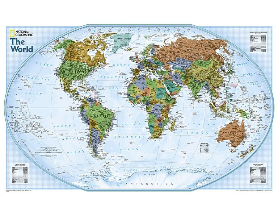 Buy Wall Maps of World, Continent, Country, City from online ...