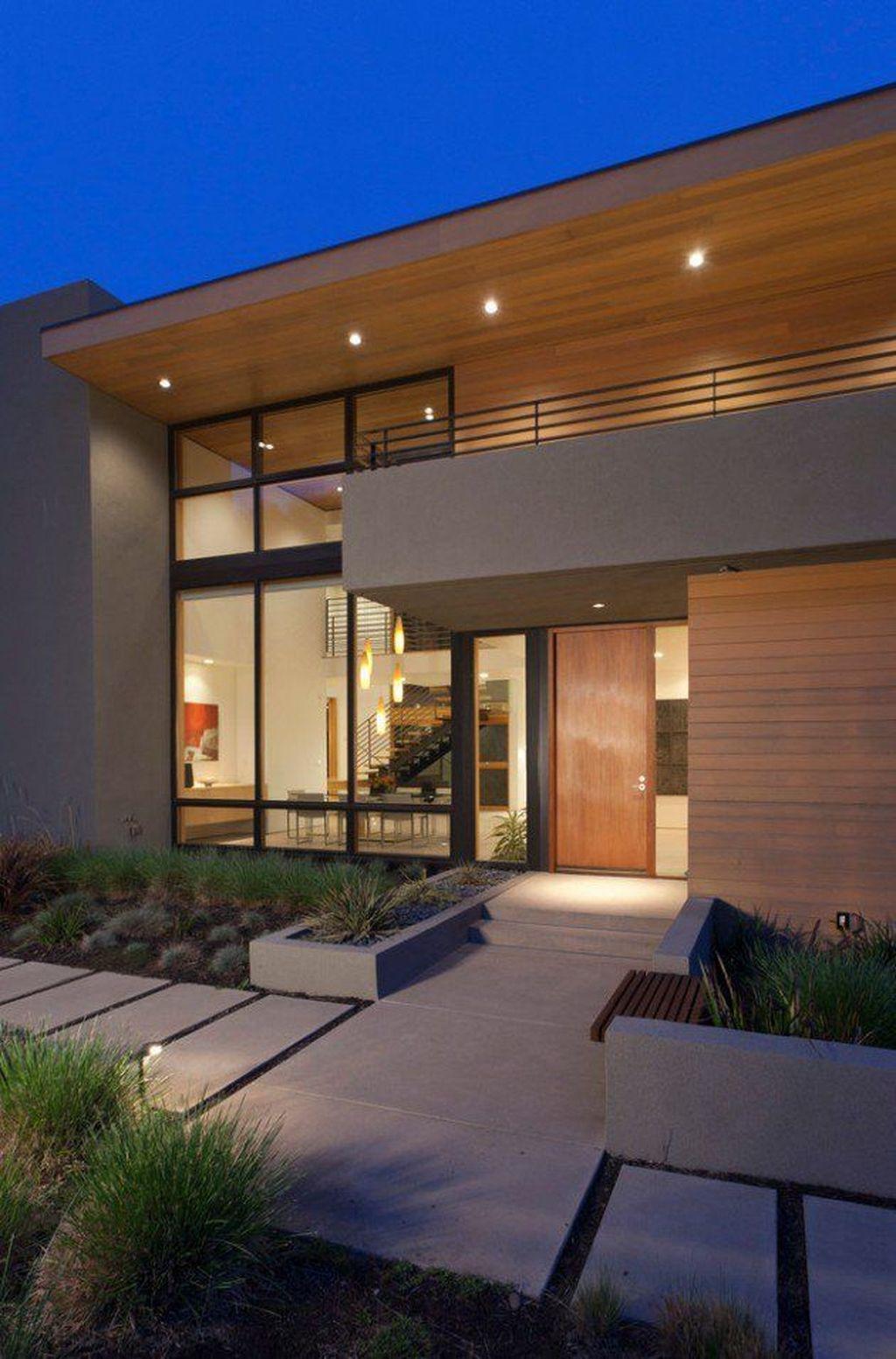 44 Awesome Contemporary Designs Ideas For Home Exterior