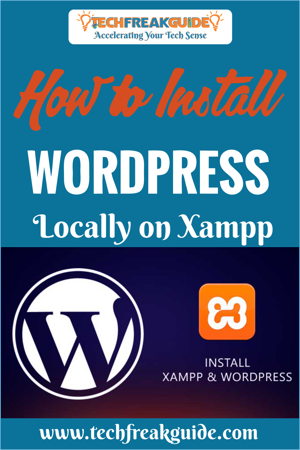 Do you wanna to install XAMPP and WordPress to make a local