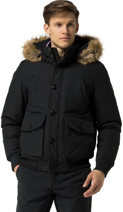 6834e5dd Pin by Fred Pratt on Parkas | Tommy hilfiger, Winter outfits men ...