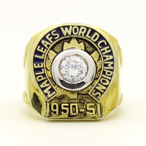 Custom 1951 Toronto Maple Leafs Stanley Cup Championship Ring