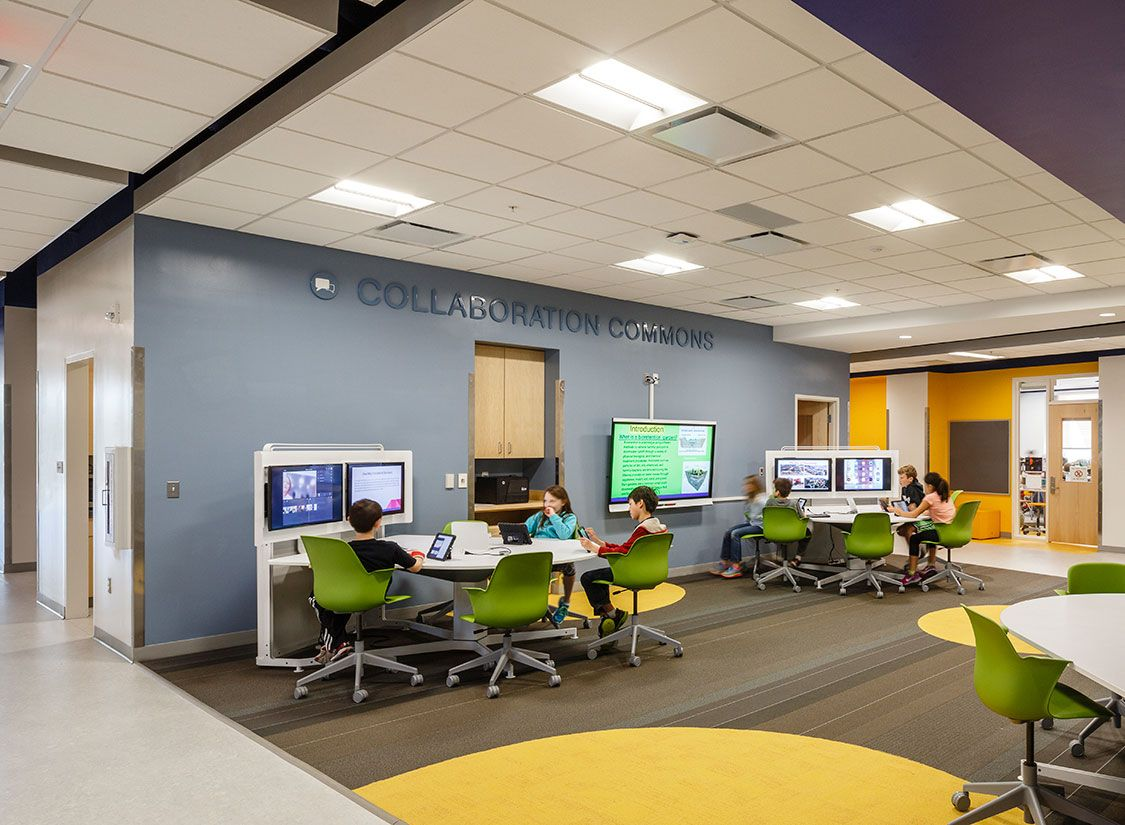 Discovery elementary school k 12 architecture and - How long is interior design school ...