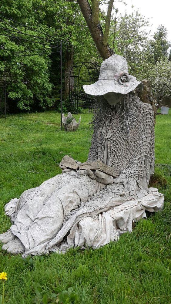 Les Plus Belles Sculptures De Jardin Cement Garden 400 x 300